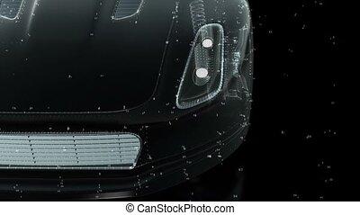 voiture, concept, technologie