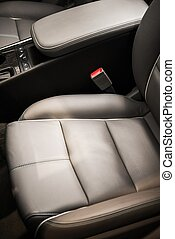 voiture, confortable, sièges