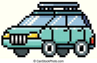 voiture, dessin animé