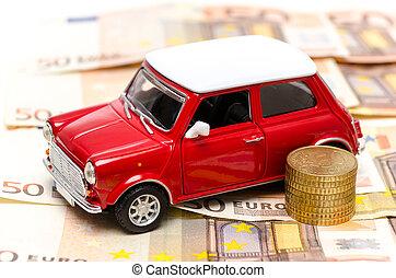 voiture, dette