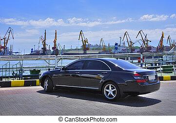 voiture,  dock