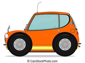 voiture drôle
