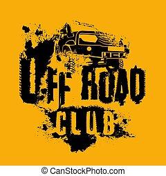 voiture, emblème, route