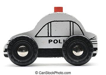 voiture, jouet, pilice