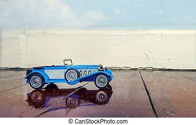 voiture, jouets retro
