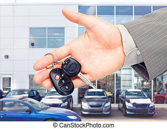 voiture, key.
