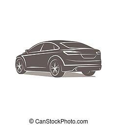 silhouette automobile symbole illustration vecteur vecteurs eps rechercher des clip. Black Bedroom Furniture Sets. Home Design Ideas