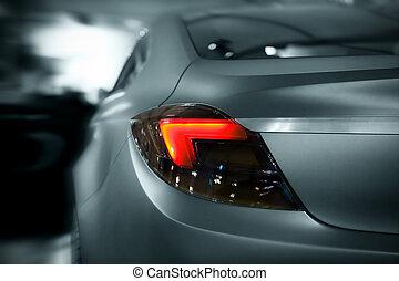 voiture, lumières