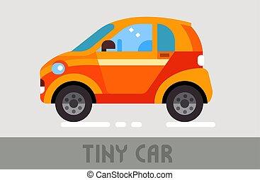 voiture, minuscule