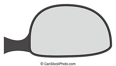 vue miroir lat ral reflet v hicule dos miroir c t. Black Bedroom Furniture Sets. Home Design Ideas