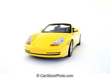 voiture, modèle, sports