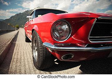 voiture, muscle, classique