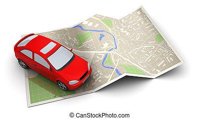 voiture, navigation