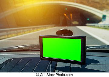 voiture, navigation, gps
