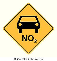 voiture, no2, panneaux signalisations