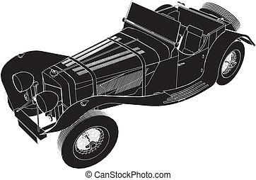 voiture, oldsmobile