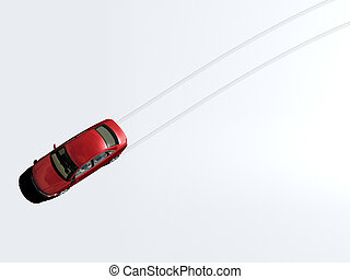 voiture, pistes