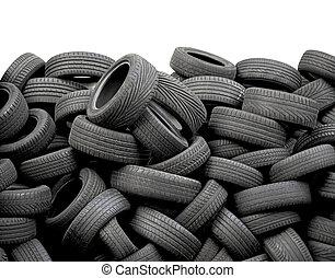 voiture, pneus