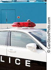 voiture, police, japonaise