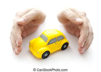 voiture, protéger, ton