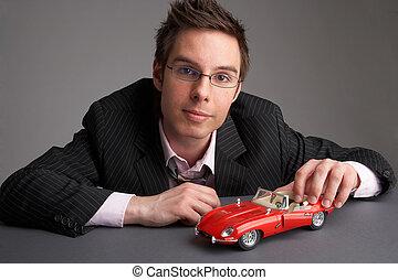 voiture, rouges