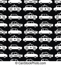 voiture, seamless, modèle