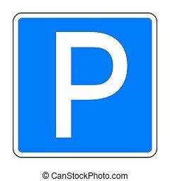 voiture signe parking voiture vecteur signe parking vecteur eps rechercher des clip art. Black Bedroom Furniture Sets. Home Design Ideas
