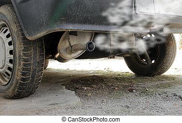 voiture, smog