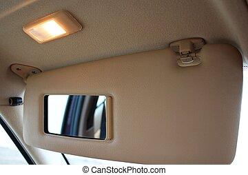 voiture, soleil,  protection, visière, lumière