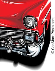 voiture, sport, conception, original, mon