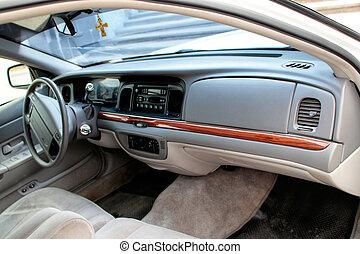 voiture, tableau bord