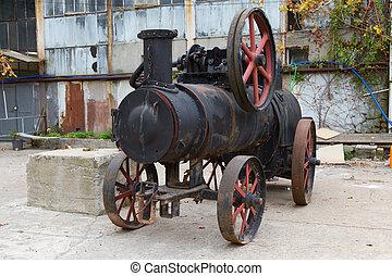 voiture, vapeur