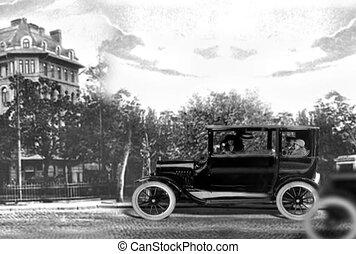 voiture, vieux temps