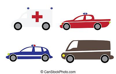 voitures, 3, dessin animé