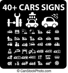voitures, 40, signes
