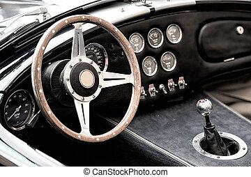 voitures,  détails, vendange