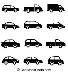 voitures, et, camions