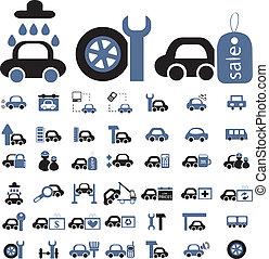 voitures, signes