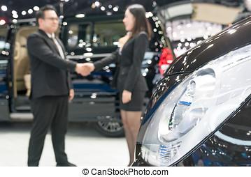 voitures, vente, vendeur, concession, voiture
