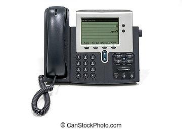 voix, sur, ip, téléphone, isoler