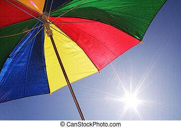 volare, ombrello