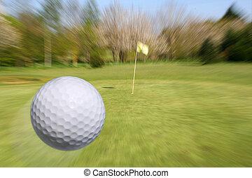 volare, palla golf