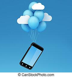 volare, smartphone