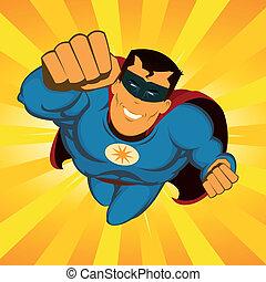 volare, superhero