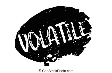 Volatile rubber stamp. Grunge design with dust scratches. Effects can be easily removed for a clean, crisp look. Color is easily changed.