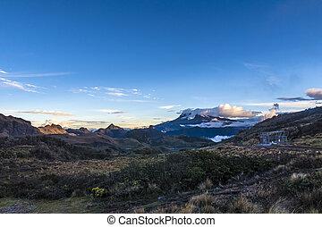 volcán,  Ecuador,  antisana