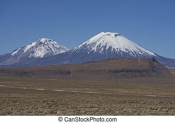 volcanes, en, el, altiplano