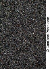 volcanic beach black sand texture
