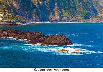 Volcanic island of Madeira