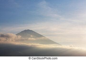 Agung - Volcano Agung , Bali, Indonesia